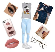"""""""Style part 2"""" by bluejay100 on Polyvore featuring Topshop, NIKE, Casetify and Lime Crime"""