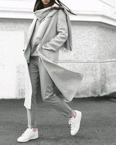 Ahora Es Turno Del Gris! 8 Looks Monocromáticos Con Gris Que Amarás | Cut & Paste – Blog de Moda