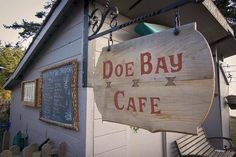 Doe Bay Cafe - Orcas Island - season, local, organic, highly recommended! They have their own farm!