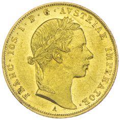 Franz Joseph I. 1848 - 1916 Dukat 1856 A Gold, Kaiserreich