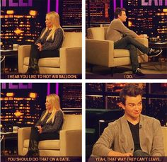 Dating tips from the fabulous Chris Colfer ^.^