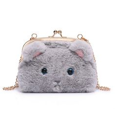 Women Cute Hasp Cat Bags Girls Chain Shoulder Bags Crossbody Bags  Worldwide delivery. Original best quality product for 70% of it's real price. Hurry up, buying it is extra profitable, because we have good production sources. 1 day products dispatch from warehouse. Fast & reliable...