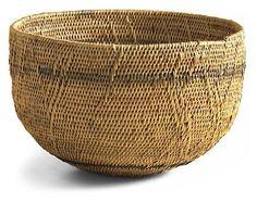 African New Makenge Medium Harvest Basket -
