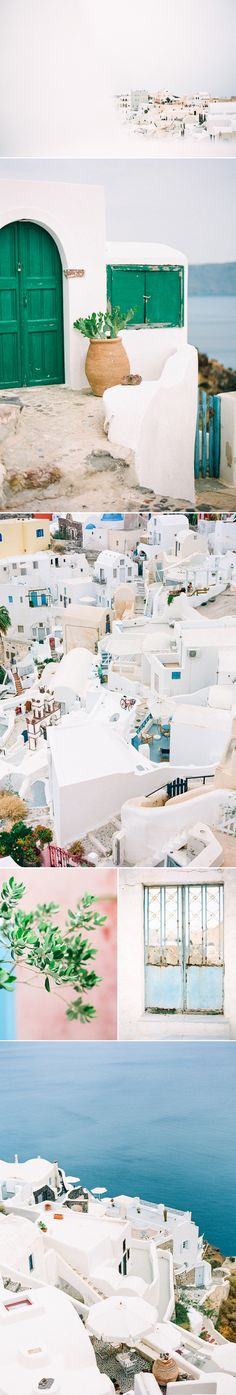 santorini on film | Kate Holstein Blog    Beautiful!,,,  Originally pinned by Ashley Goodwin Photography onto Well Traveled.
