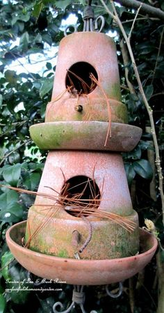 It's All About The Birds!(Birdhouses, Baths and Feeders in Our Garden)