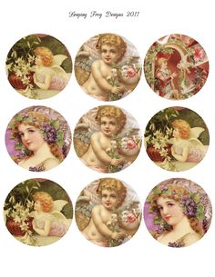 free victorian images | Leaping Frog Designs: Free Collage Page For You Victorian Girls ...