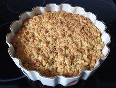 Tarta de manzana facilísima y rápida de hacer que además está muy rica.