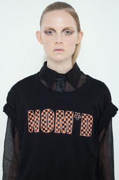 NOM*D Makeup Looks, Mafia, Sweatshirts, Tees, Minimalist, Urban, Collection, Black, Design
