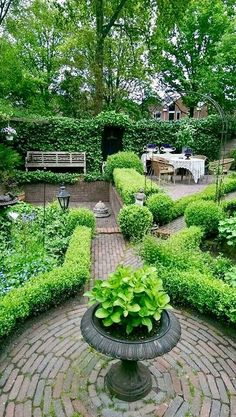 beautiful english country garden design ideas to inspire you page 70 Beautiful Gardens, Small English Garden, Country Garden Design, Country Gardening, Diy Garden, Outdoor Gardens, Garden Planning, Garden Design, Shade Garden
