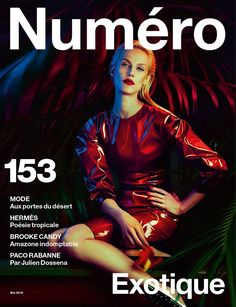 red lips | Numero No.153 May 2014 Aymeline Valade by Txema Yeste