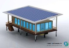The Global Sustainable Home by John Farag #architecture trendhunter.com