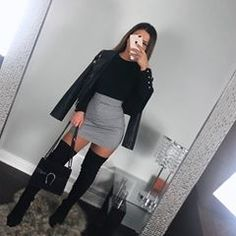 Find images and videos about fashion, style and outfit on We Heart It - the app to get lost in what you love. Winter Mode Outfits, Winter Fashion Outfits, Fall Outfits, Party Outfit Winter, Winter Night Outfit, Night Out Outfit, Night Outfits, New Years Eve Outfits, Cute Casual Outfits