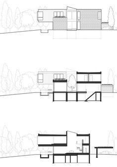 Cedarvale Ravine House by Drew Mandel Architects   HomeDSGN