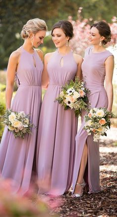 Bridesmaid Dresses Sorella Vita Bridesmaid Dress Collection - Sorella Vita bridesmaid dress collection brings the hottest runway styles and latest red carpet trends to wedding aisles in the form of beautiful gowns. Sorella Vita Bridesmaid Dresses, Bridesmaid Dresses 2017, Lavender Bridesmaid Dresses, Wedding Bridesmaids, Wedding Gowns, Prom Dresses, Dress Prom, Long Dresses, Wedding Aisles