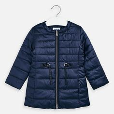 Windbreaker jacket for girl. Made from lightweight, breathable fabric which is comfortable to wear. Windbreaker Jacket, Navy Blue, Winter Jackets, Vogue, How To Wear, Coats, Fashion, Winter Coats, Moda