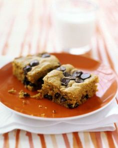 Pumpkin-Chocolate-Chip Squares Recipe. Always a hit.