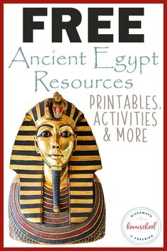 Ancient Egypt Resources: Printables, Activities & More - Homeschool Gi.FREE Ancient Egypt Resources: Printables, Activities & More - Homeschool Gi. Ancient Egypt Lessons, Ancient Egypt Activities, Ancient Egypt Crafts, Ancient Egypt For Kids, Ancient Egypt Pharaohs, Ancient Egypt History, Egypt Civilization, Ancient Civilizations, Ancient Egypt Mummies