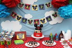 Mickey Mouse Clubhouse Birthday Party Ideas | Photo 1 of 12 | Catch My Party