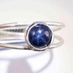 Sternsaphir Ring