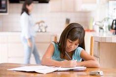 Los deberes de los niños