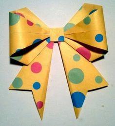 Cómo hacer Lazos de papel DIY   Solountip.com