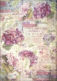 Rice Paper - Hortensia | Napkin Shop