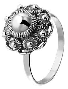 Lucadi. Zilveren ring met Zeeuwse knoop 14mm 39,99