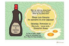 Breakfast invitation (L.Lamb)