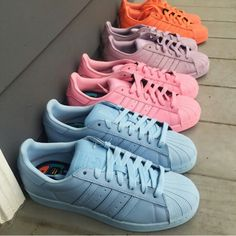 Addidas New Superstar Supercolors
