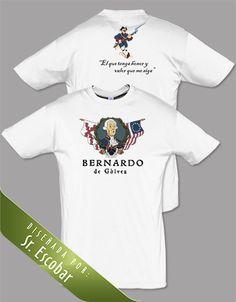 Bernardo de Gálvez. Diseño del Sr. Escobar