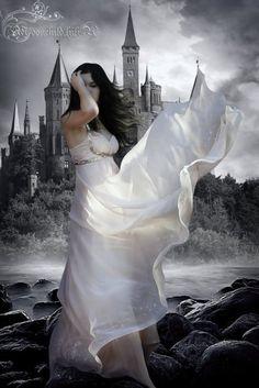 GOTH dark glamour ✤ :: Gothic White