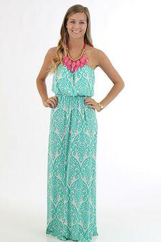 All Mine Maxi Dress, mint