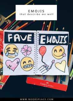 Emojis That Describe Me Well: Do you love emojis as much as I do? This post is alllll about my favorite emojis and how they describe what I have to say *insert a cute emoji here* #emojis