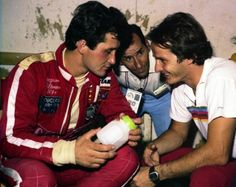 Gilles with brother Jacques