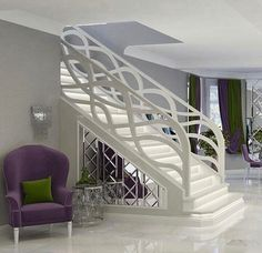 interior staircase designs modern stairs designs: minimalist straight staircase design without railing Foyer Design, Staircase Design Modern, Staircase Railing Design, Luxury Staircase, Interior Stair Railing, Modern Stair Railing, Balcony Railing Design, Home Stairs Design, Modern Stairs