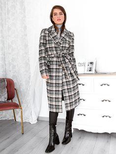 Παλτό Midi Καρό Με Ζώνη - Wild East Normcore, Coats, Outfits, Style, Fashion, Swag, Moda, Wraps, Suits