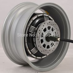 Electric Car Hub Motor 273 4000W Extra Type/V3 In-wheel Hub Motor