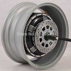 Electric Car Hub Motor 273 4000W Extra Type/V3 In-wheel Hub Motor More