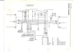 wiring diagram of a 1995 kawasaki klr 650 motorcycle. Black Bedroom Furniture Sets. Home Design Ideas