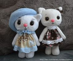 Sewing kitty. Master class + pattern .. Discussion on LiveInternet - Russian Service Online diary