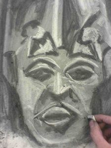Art Tutorials and Lessons - Charcoal Art Project