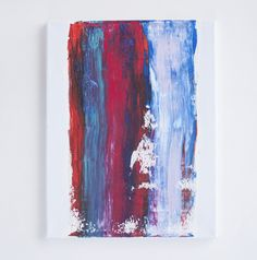 11 x 14 original abstract painting by Brenna Giessen
