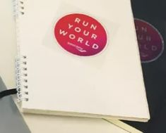 FREE Saucony Run Your World Sticker on http://hunt4freebies.com