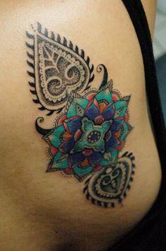 paisley tattoo / mandala tattoo #philippines http://www.facebook.com/marian.lacanilao.tattoo