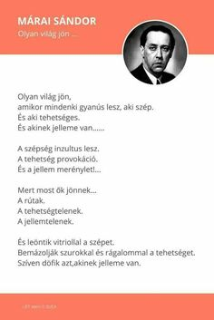 A Hír Ami Számít : Napi idézet Poem Quotes, In My Feelings, Haiku, Positive Vibes, Favorite Quotes, Texts, Literature, My Life, Inspirational Quotes