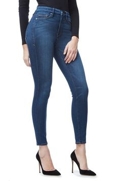 GOOD AMERICAN GOOD WAIST | BLUE013 JEAN  These are not just a WANT, but a NEED