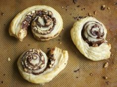 Recipe: Chocolate and Hazelnut Swirls :: Rosie French and Ellie Grace :: Culinate