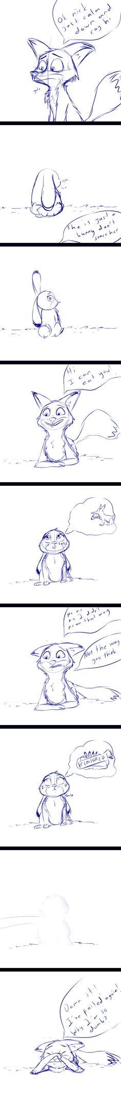 Say Hi - Short sketch comic by gokhan16