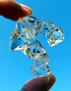 Fine Herkimer Diamond Cluster from Ace of Diamond Mines, Middleville, Herkimer Co., New York. Credit: All That Glitters