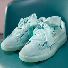 puma basket heart collection